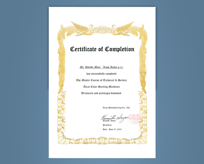 Irom-Certificate-Completion